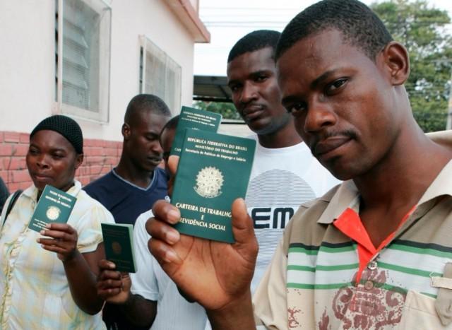 Haitianos no Brasil