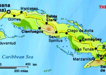 Divisão territorial em Cuba