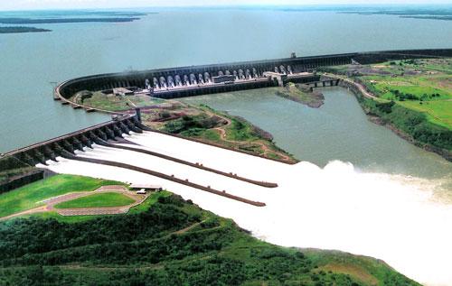 Construção das Usinas Hidrelétricas no Brasil