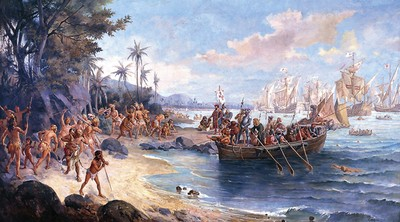Início da exploração do território brasileiro