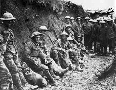 O fim da primeira guerra mundial