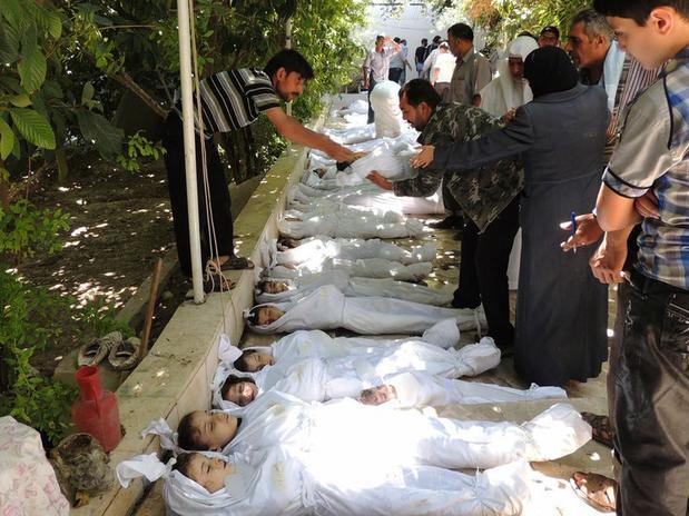 Ataque químico em Damasco