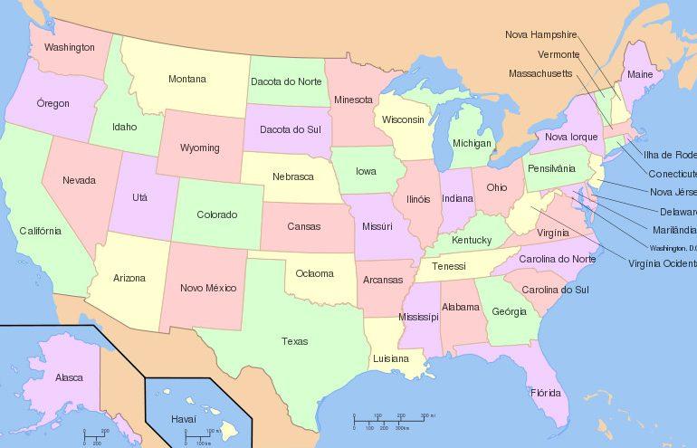 Estados dos Estados Unidos