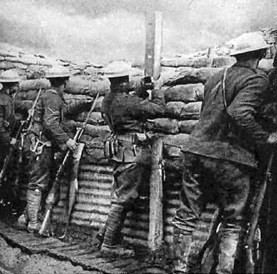 Os países envolvidos na primeira guerra mundial